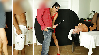 CUMSHOT CHALLENGE EXTREME! Jerk off in the face